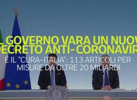 Decreto Cura Italia: sintesi delle misure a sostegno del mondo sportivo